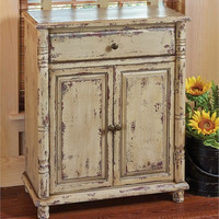 Distressed Cupboard Cabinet