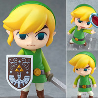 Legend of Zelda Nendoroid PVS Action Figure 10CM Model Cute