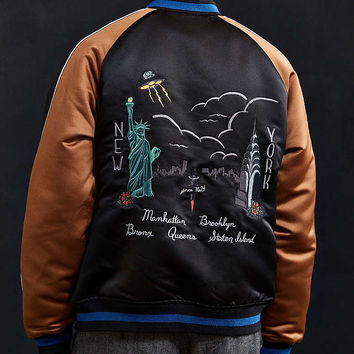 UO Embroidered New York City Souvenir Jacket - Urban Outfitters