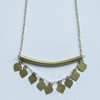 Tiered Tube Necklace