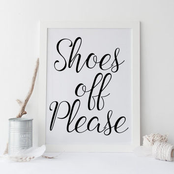 photo about Please Take Off Your Shoes Sign Printable titled Store Be sure to Take away Footwear upon Wanelo