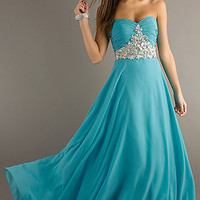 Strapless Dress by Night Moves
