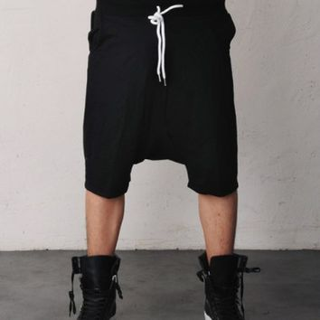 POD Drop Crotch Sweat Jersey Shorts