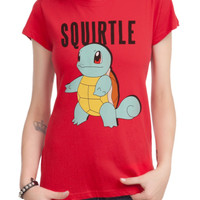Pokemon Squirtle Girls T-Shirt