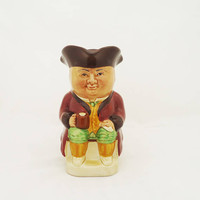 Vintage Toby Jug by Wood & Son, Small Toby Jug No 3 Wood and Son, Collectable Toby Jug