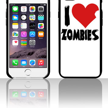 I Heart Zombies 5 5s 6 6plus phone cases