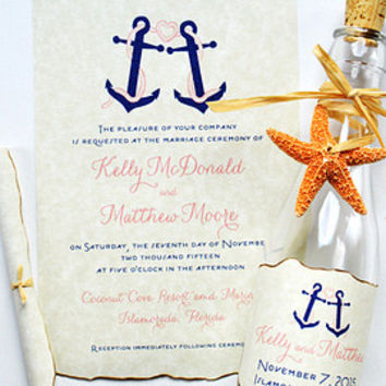 Best Message In A Bottle Wedding Invitation Products on Wanelo