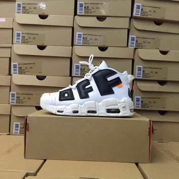 Off-White x Air More Uptempo Sneaker Shoe 36-47