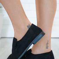 Everywhere You Go Loafers - Black