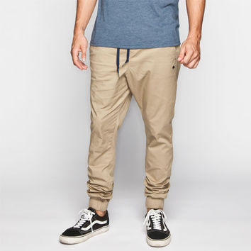 Lrg Gamechanger Mens Jogger Pants Khaki  In Sizes