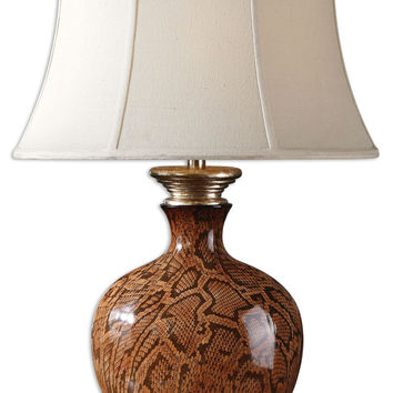 Uttermost Serpiente Ceramic Lamp - 26485