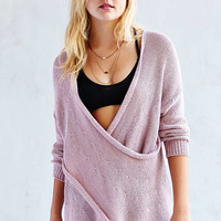 Kimchi Blue Everyday Surplice Sweater - Urban Outfitters