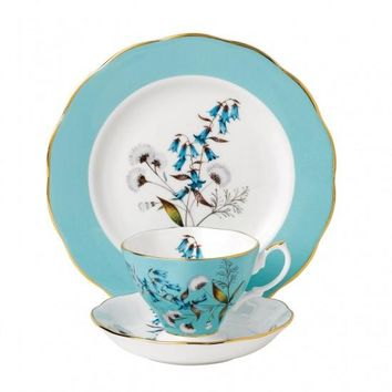 100 Years Of Royal Albert 1950 Festival 3-Piece Place Setting - Only 1 Set Available!