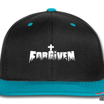 Forgiven by Jesus Snapback