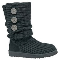 UGG Classic Cardy 5819-Black Boots Outlet UK
