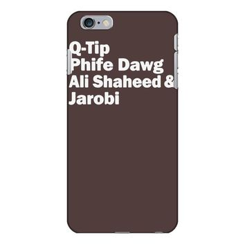 tribe called quest names iPhone 6/6s Plus Case