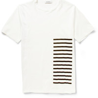 Tim Coppens - Mesh and Cotton-Jersey T-Shirt | MR PORTER