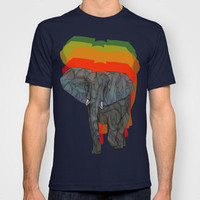 African Elephant T-shirt by Ben Geiger | Society6