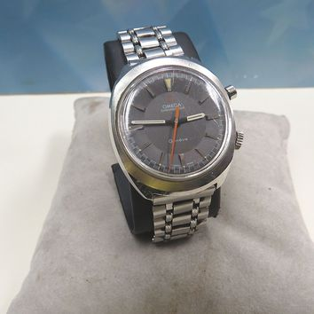 MEN'S OMEGA CHRONO STOP STAINLESS STEEL WATCH, 17 JEWELS, REPAIR