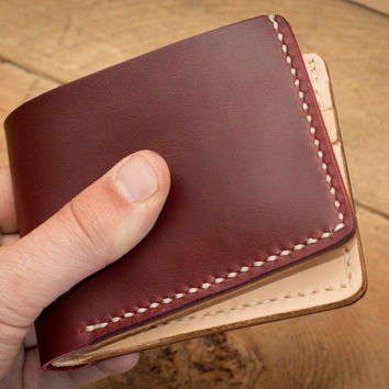 Naked Cherry 6 Card Traditional Leather Wallet