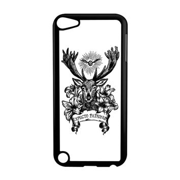 Expecto Patronum Spell Magical Harry Potter White iPod Touch 5 Case
