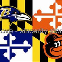 NFL Baltimore Ravens  Flag 3ft x 5ft 100%Polyester Patio, Lawn & Garden   Outdoor Flags