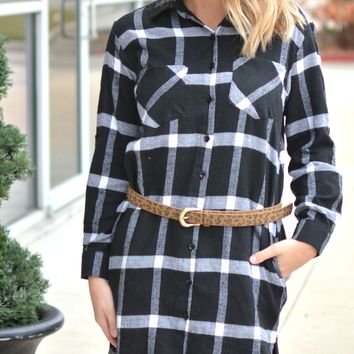 Forever Mine Plaid Tunic