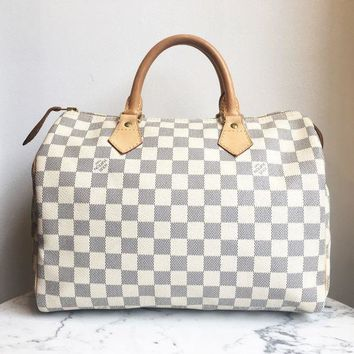 CREY3DS Louis Vuitton 'Speedy 30' Handbag