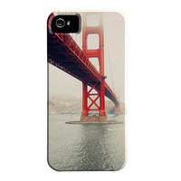iPhone 5 Case, CLEARANCE, San Francisco Case, California, Golden Gate Bridge, Gift For Men, Under 40