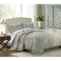 Adorable Classic 3-Piece King Quilt Set
