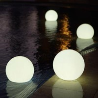 Floating, Waterproof LED Globe Lights