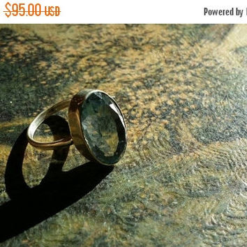 45% Off VETERANS DAY SALE Aquamarine  8ct Size 7.5 Ring Gemstone. 925 Sterling Silver Etsy Gift Sale Holiday