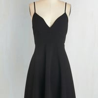 LBD Mid-length Spaghetti Straps A-line Tour de Dance Dress