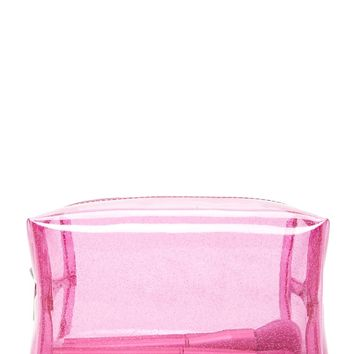 Glitter Jelly Makeup Bag