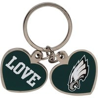 Philadelphia Eagles Love Keychain