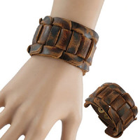 new (15% off) Leather Wristband comes with a free wrist chain