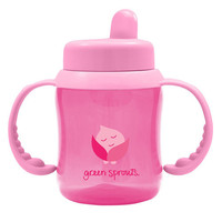 Green Sprouts Sippy Cup Flip Top Pink -1 Count-