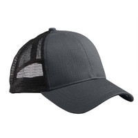 econscious Eco Trucker Organic/Recycled Cap>One size CHARCOAL/BLACK EC7070