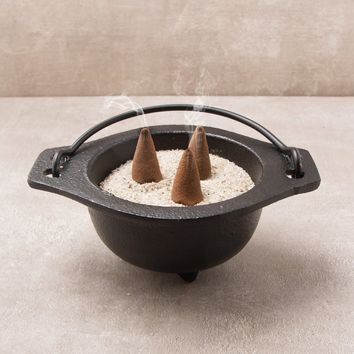 Cast Iron Incense Cauldron
