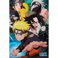 Naruto - Domestic Poster