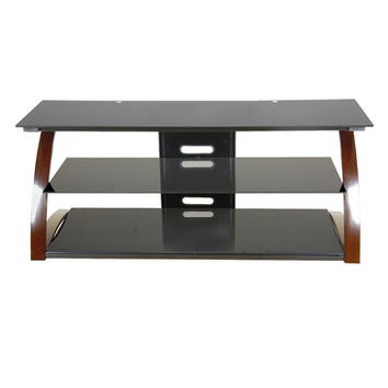 Techni Mobili Contemporary 65 Inch TV Stand in Black