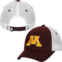Minnesota Golden Gophers Zephyr Basic Trucker Snapback Adjustable Hat – Maroon