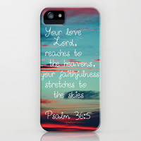 Your Love O Lord Free Shipping by Caleb Troy | Society6