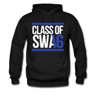 CLASS OF SWAG (2016) blue with bands Hoodie | Spreadshirt | ID: 10919647