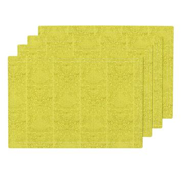 Lemon Blueberry Blender 02 Placemats by noondaydesign | Roostery Home Decor