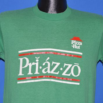 80s Pizza Hut Priazzo 1985 Italian Deep Dish t-shirt Medium