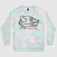 Stay Weird Crewneck