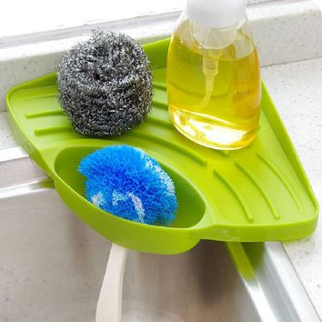 Kitchen Sink Corner Storage Rack Sponge Holder