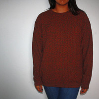 Vintage oversized sweater 80s