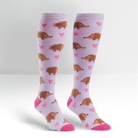 Hedgehog Heaven Knee High Socks